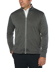 Callaway CGM503 Men 's Full Zip Waffle Fleece Jacket at GotApparel
