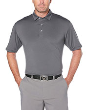 Callaway CGM711 Men 's Fine Line Stripe Polo at GotApparel