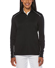 Callaway CGW545 Women Ladies' 1/4 Zip Water Repellent Pullover at GotApparel