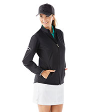 Callaway CGW585 Women Ladies' Full Zip Wind Jacket at GotApparel