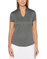 Callaway CGW703 Women Ladies' Fine Line Stripe Polo at GotApparel