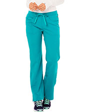 Code Happy CH000AT Women Mid Rise Moderate Flare Leg Pant Tall at GotApparel