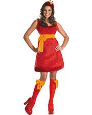 Halloween Costumes DG12331N Women Elmo Sassy Female 4-6 at GotApparel