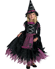 Halloween Costumes DG3216L Girls Fairy Tale Witch 4 To 6 Child at GotApparel