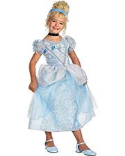 Halloween Costumes DG50571K Girls Cinderella Deluxe Child 7-8 at GotApparel