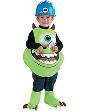 Halloween Costumes DG5583 Infants Mike Candy Catcher at GotApparel