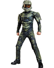 Halloween Costumes DG89975G Unisex Master Chief Classic Mus 10-12 at GotApparel