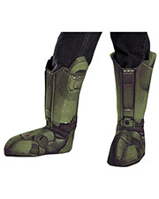 Halloween Costumes DG89999CH Boys Morris  Master Chief Child Boot Covers at GotApparel