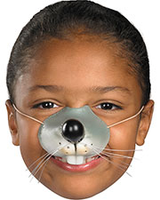 Halloween Costumes FA226 Unisex Nose Mouse W Elastic at GotApparel