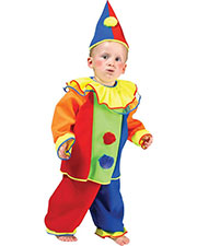 Halloween Costumes FF740605 Infants Baby Bobo Clown Small 4-6 at GotApparel