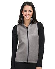 Tri-Mountain FL7002 Women 100% Polyester Full Zip Vest. at GotApparel