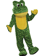 Halloween Costumes FM62607 Boys Deluxe Plush Frog Mascot at GotApparel