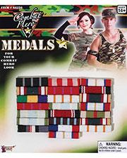 Halloween Costumes FM66226 Unisex Combat Hero Medals Bars at GotApparel