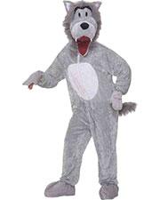 Halloween Costumes FM67718 Men Wolf Grey Mascot at GotApparel