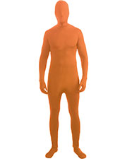 Halloween Costumes FM71424 Men Skin Suit Neon Orange St at GotApparel