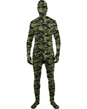 Halloween Costumes FM71790 Men Skin Suit Camo Std at GotApparel