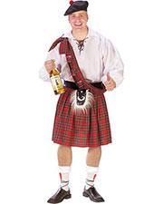 Halloween Costumes FW110614 Men Scottish Kilt Standard at GotApparel
