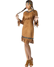 Halloween Costumes FW111024SD Women American Indian Woman S/M at GotApparel