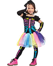 Halloween Costumes FW112591TS Toddler Funky Punky Bones Tdlr Sm 24-2 at GotApparel