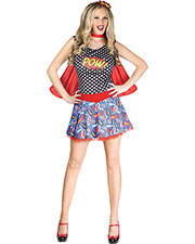 Halloween Costumes FW124024ML Girls Comic Book Cutie Adult Med-Lg at GotApparel