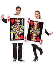Halloween Costumes FW131814 Women King And Queen Of Hearts 2 Costume at GotApparel