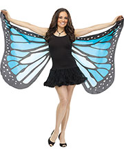 Halloween Costumes FW90563BU Women Wings Soft Butterfly Adult Blue at GotApparel