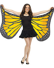 Halloween Costumes FW90563OR Women Wings Soft Butterfly Adult Oran at GotApparel