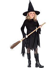 Halloween Costumes FW9721SM Girls Morris  Classic Witch Child Sm 4-6 at GotApparel