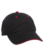 Outdoor Cap GL-645  Unstructured Brushed Twill Sandwich Cap at GotApparel