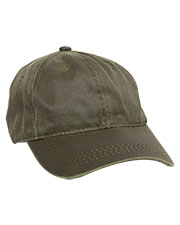 Outdoor Cap HPD-605  Weathered Cotton Solid Back Cap at GotApparel