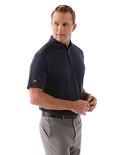 Jack Nicklaus JNM216 Men Diagonal Twill Polo at GotApparel