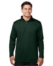 TM Performance K628 Men's Cleton 1/4 Zip Pullover W/Tmp Puller at GotApparel