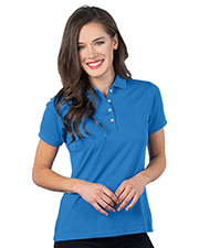 Tri-Mountain KL505 Women Ultra Soft Double-Peached Polo at GotApparel