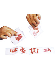 Halloween Costumes LA01 Men Chinese Laundry Tickets at GotApparel