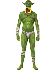 Halloween Costumes MH20233 Men Morph Jaw Dropr Green Child Lg at GotApparel