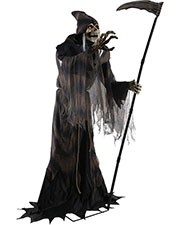Halloween Costumes MR124341 Unisex Lunging Reaper Animated Prop at GotApparel