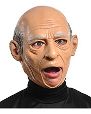 Halloween Costumes MR131147 Unisex Old Man Latex Mask at GotApparel