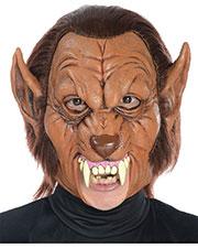 Halloween Costumes MR131165 Unisex Werewolf 3/4 Latex Mask at GotApparel