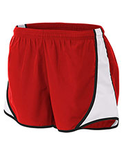 """A4 NW5341 Women 3"""" Speed Shorts at GotApparel"""