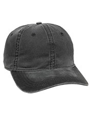 Outdoor Cap PDT-750  Pigt Dyed Twill Solid Hat at GotApparel