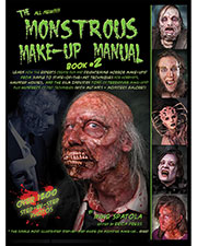 Halloween Costumes RB184 Unisex Monstrous Make Up Book 2 at GotApparel