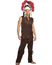 Halloween Costumes RL9189LG Men Chief Long Arrow Large at GotApparel