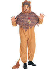 Halloween Costumes RU15476 Men Wiz Of Oz Cowardly Lion Ad at GotApparel