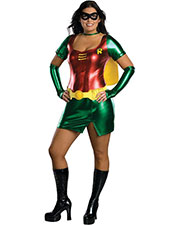 Halloween Costumes RU17594 Women Robin Sexy Plus Size at GotApparel