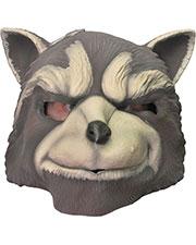 Halloween Costumes RU35606 Unisex Rocket Racoon Mask at GotApparel