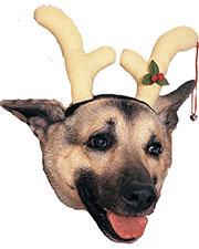 Halloween Costumes RU432 Unisex Reindeer Dog Antlers at GotApparel
