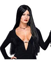 Halloween Costumes RU51735 Unisex Addams Family Dlx Morticia Wig at GotApparel