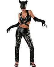 Halloween Costumes RU56019LG Women Catwoman Large at GotApparel