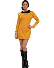 Halloween Costumes RU889059MD Women Star Trek Classic Gld Dress Md at GotApparel