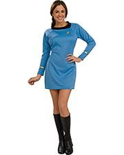 Halloween Costumes RU889060MD Women Star Trek Classic Blu Dress Md at GotApparel